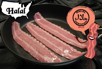 What types of Bacon is Halal?